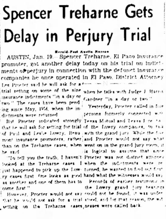 Treharne - Delay in Trial -