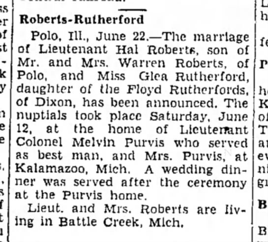 Freeport Journal Standard, June 22, 1943 -