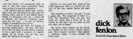 Seattle Slew Brings Taylors Into The Club Part 3 -