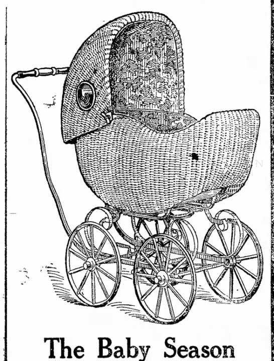 1911 Baby Carriage -