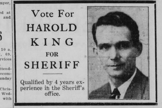 Harold King -