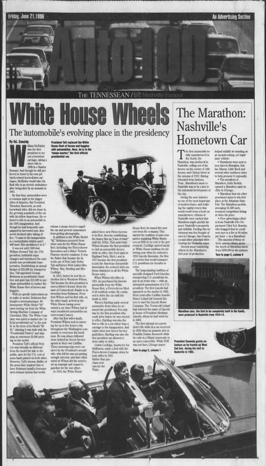 White Steamer - 1996 Article -