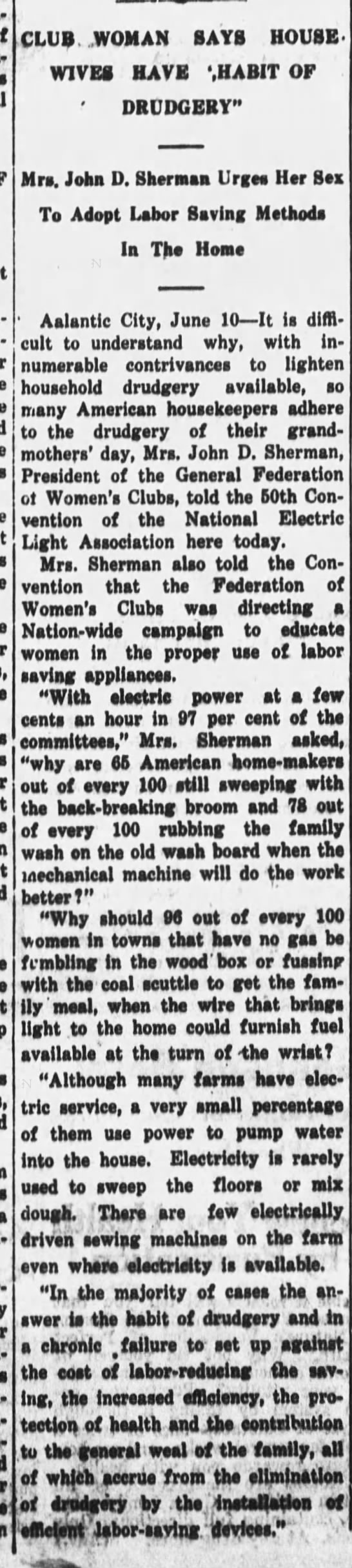 Electric power and housework (1927) -