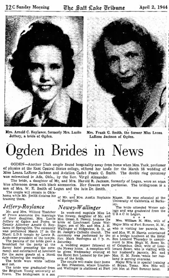 1944Apr2-wedding picture