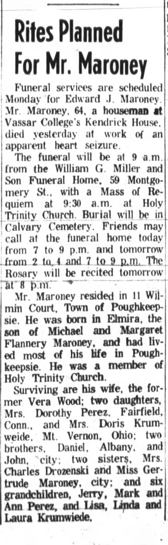 Edward J. Maroney -