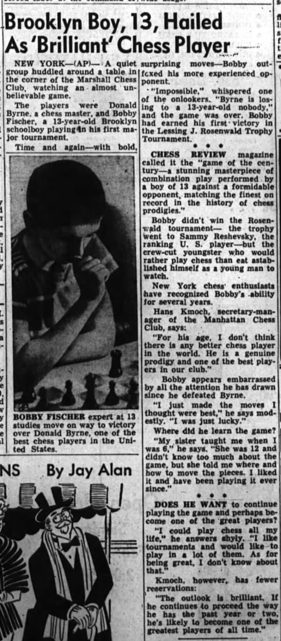 Brooklyn Boy, 13, Hailed As 'Brilliant' Chess Player -