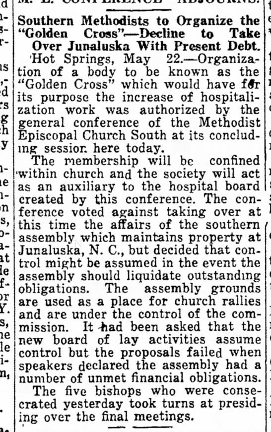 Denial of takeover SA 1922 -
