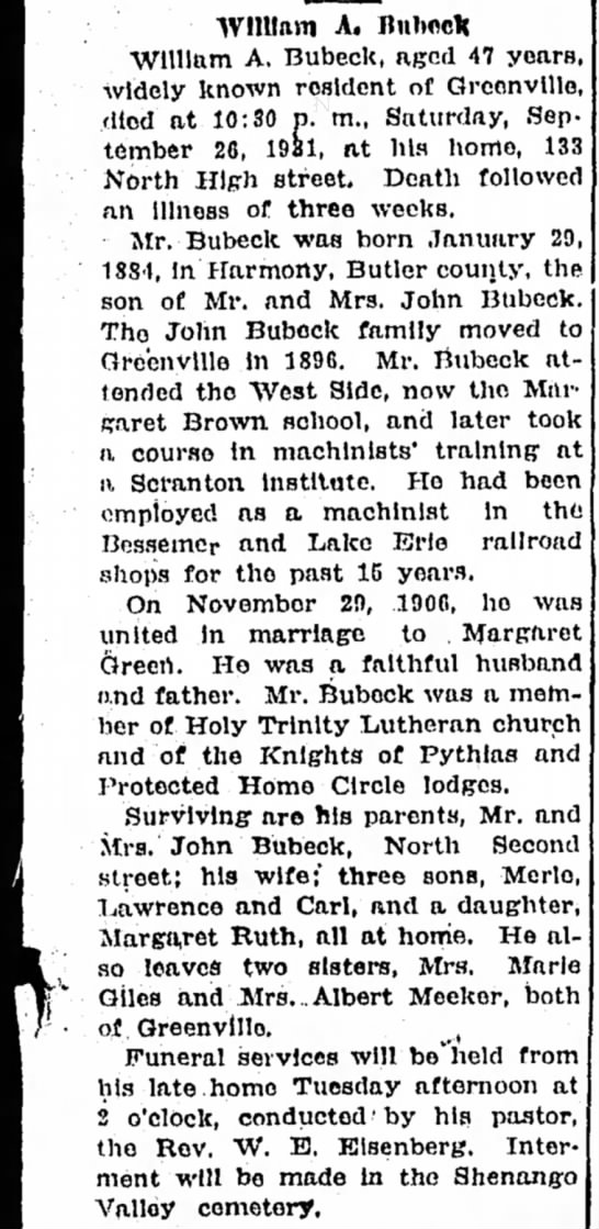The Record-Argus (Greenville, PA- 28 Sep 1931 page 9 -