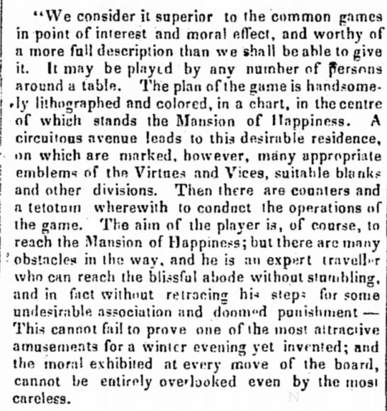Description of the Mansion of Happiness -