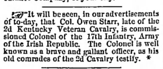Louisville Daily Courier, March 19, 1866, p. 2 -