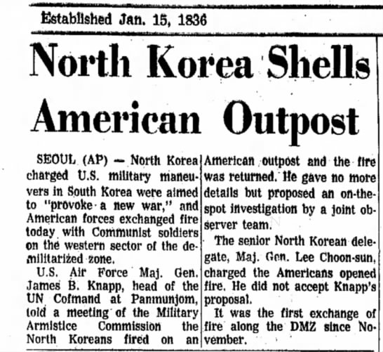 Tuesday, March 11, 1969 Alton Evening Telegraph (Alton, Illinois) - Established Jftft, 15, 1836 North Korea Shells...