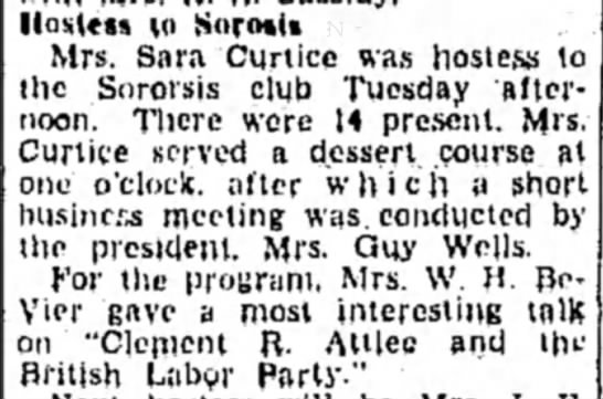 Murray - Mrs William The Chronicle-Telegrm (Elyria, Ohio) 18 October 1945 p 10 -