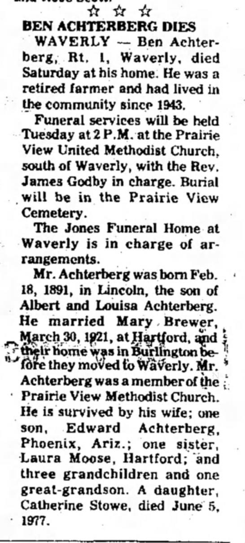 Obituary -