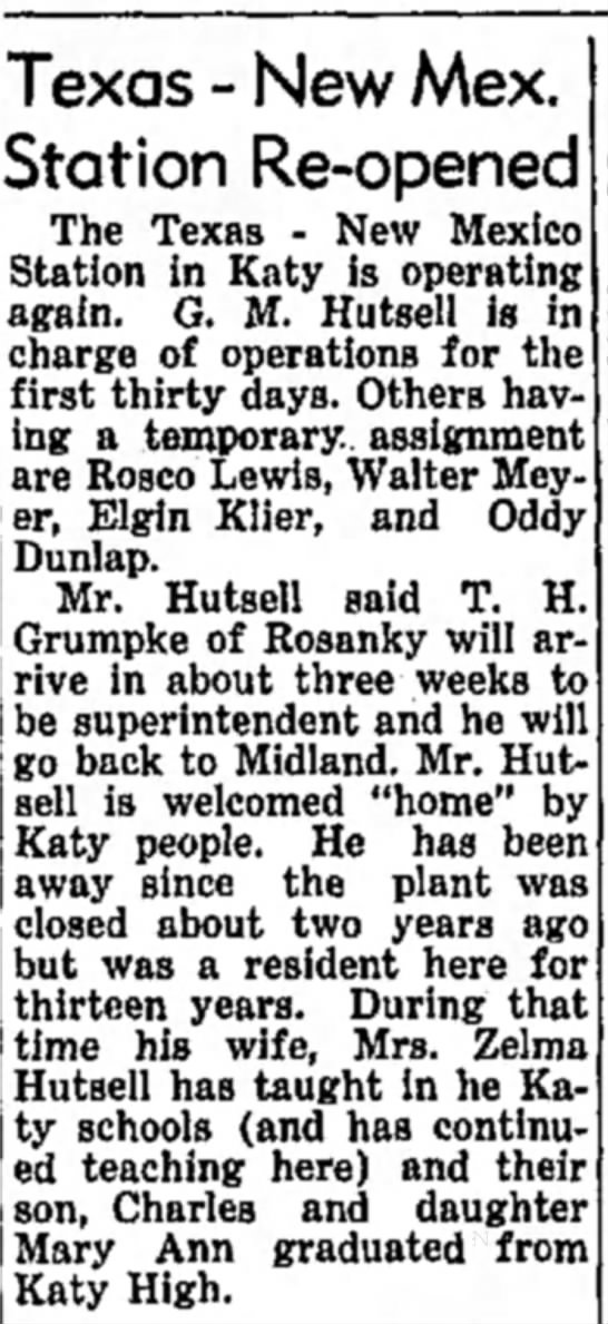 26 Jan 1956 The Brookshire Times -