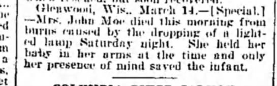The Weekly Wisconsin (Milwaukee, Wisconsin)Saturday, March 19, 1898 - Page 5 -