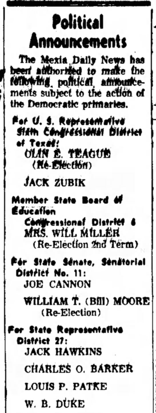 Jack Zubik -- for Congress -