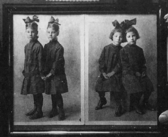 Twin sisters Nettie and Nellie rode the Orphan Train together -