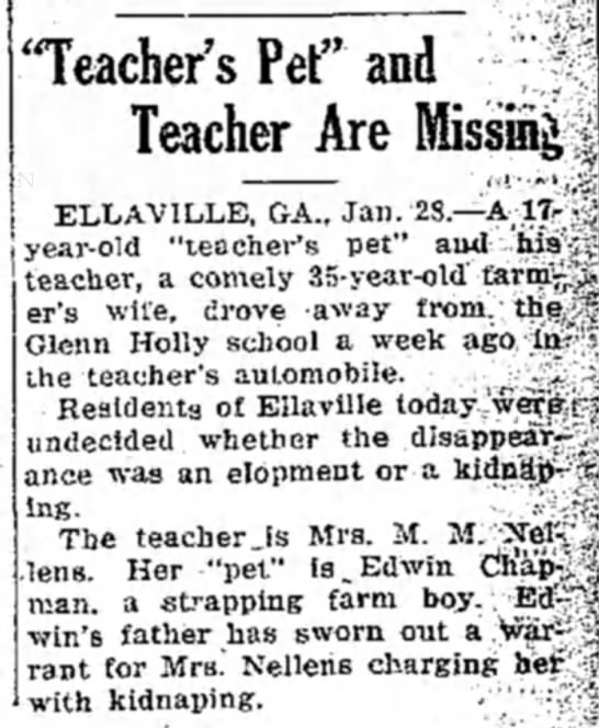 Teacher's Pet and Teacher are Missing -