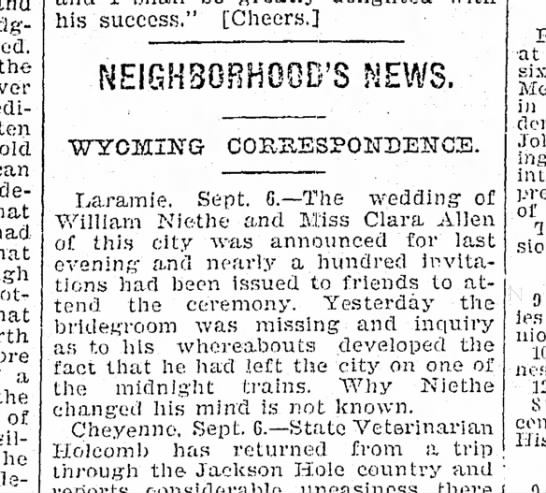 1896 Niethe Wm non wedding -
