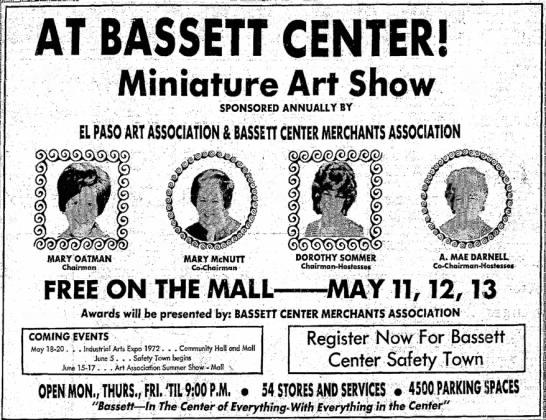1972 May 10 Bassett Ctr Show -