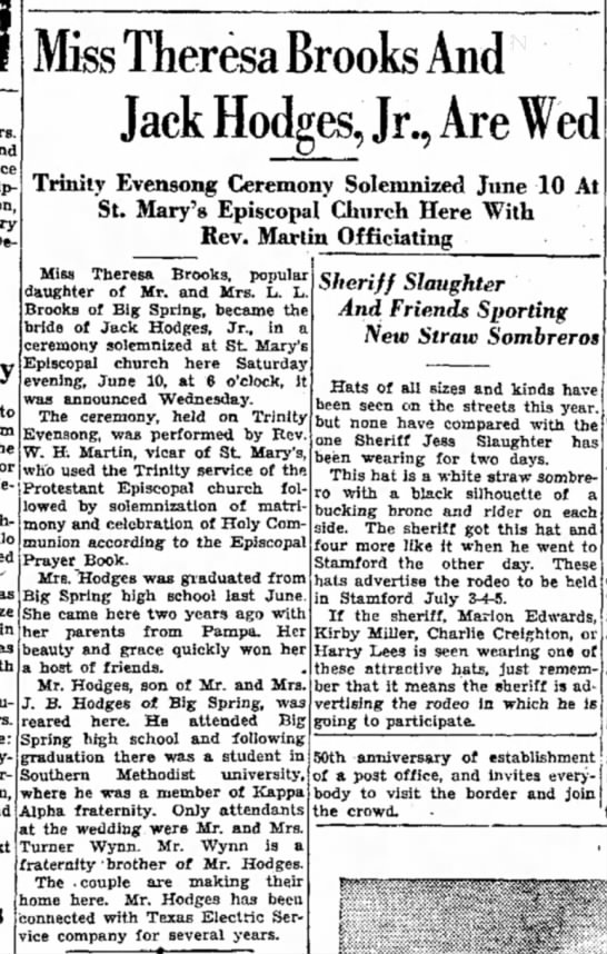 Big Spring Daily Herald9big Spring, Texas 28 June 1933 -