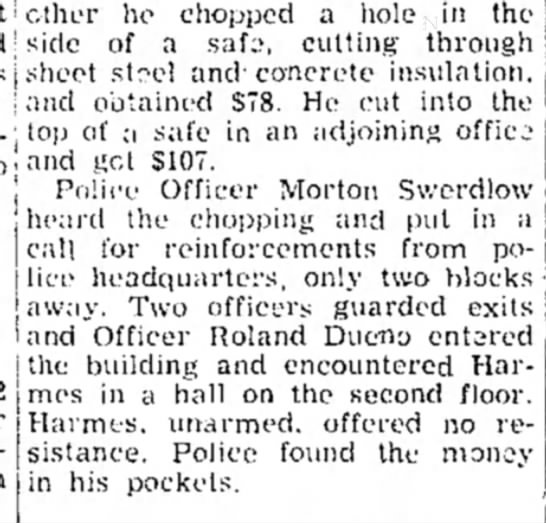 This is in the  paper on Dec. 27, 1954 -