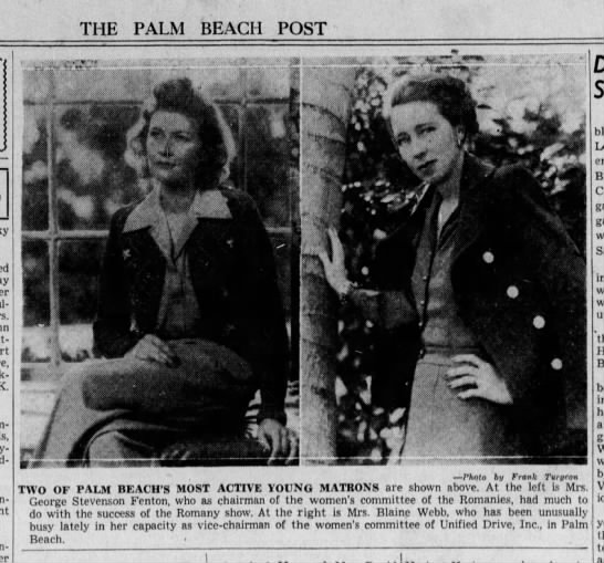 Charlotte Chase - THE PALM BEACH POST K. Com-tesse Bry-...