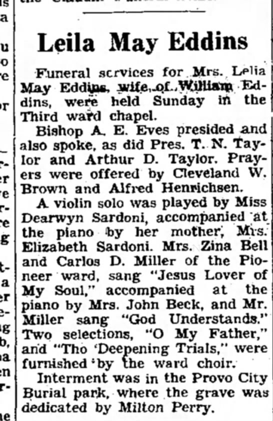THE DAILY HERALD (PROVO, UT) 19 APR 1938, PG 5 -