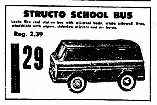 structo school bus -