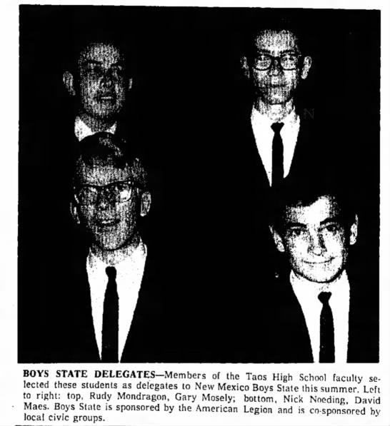 The Taos News  Pg 5  29 April 1965 -