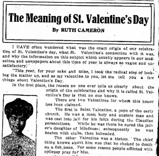 The Meaning of St. Valentine's Day -