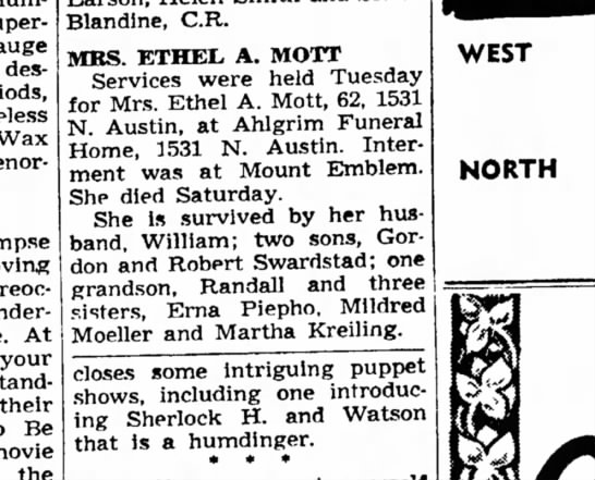 The News (Chicago Illinois)8/26/1964 -