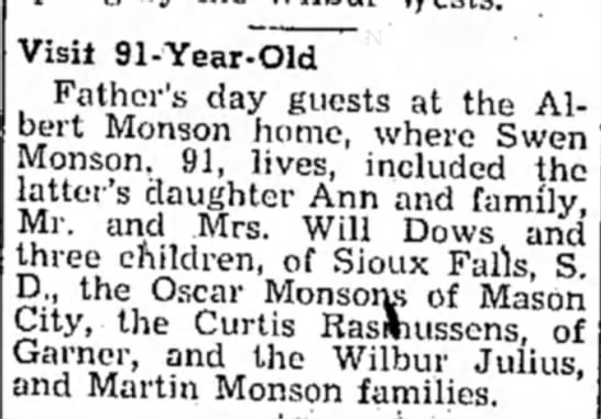 Albert Father's Day 1948 -