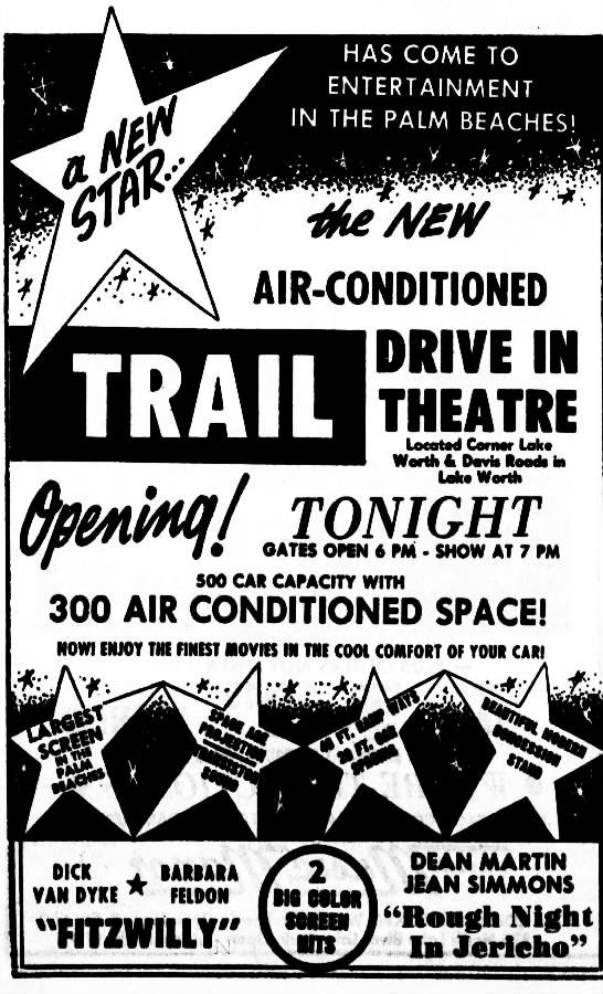 Trail Drive In Opening Newspapers Com