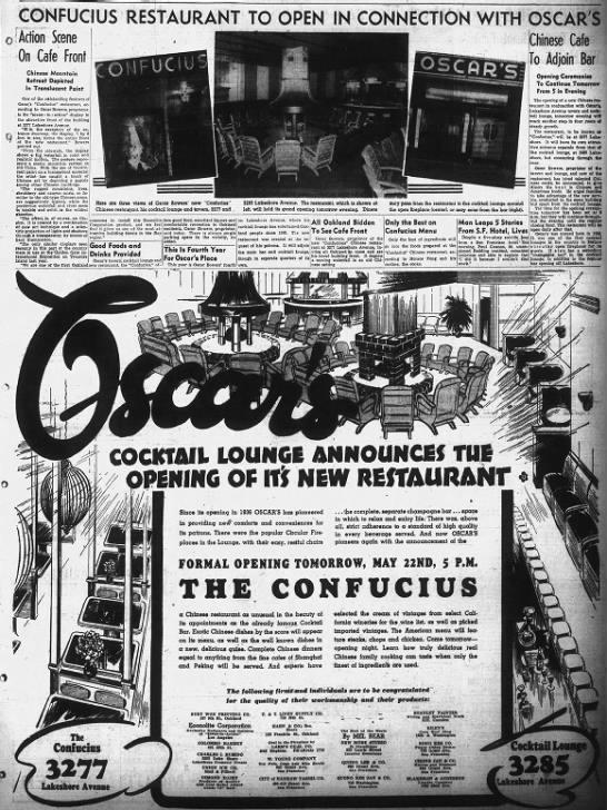 Oscar's opening Confucious -