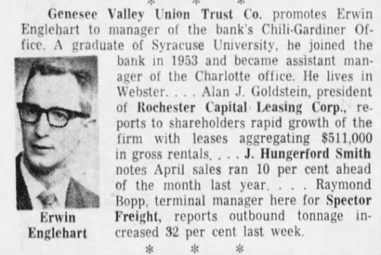 15 May 1962 Rochester Democrat & Chronicle -