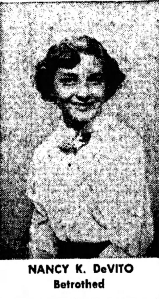 Possible Dommies Daughter Nancy K DeVito -