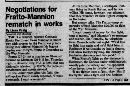 10-12-82 Fratto-Mannion rematch 1 -