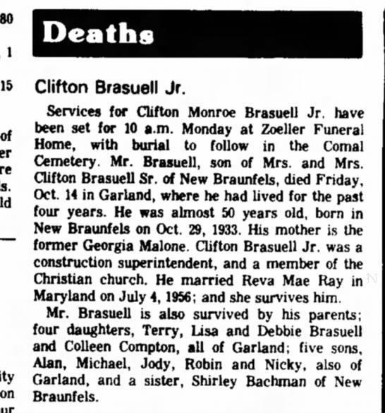 Clifton Brasuell -