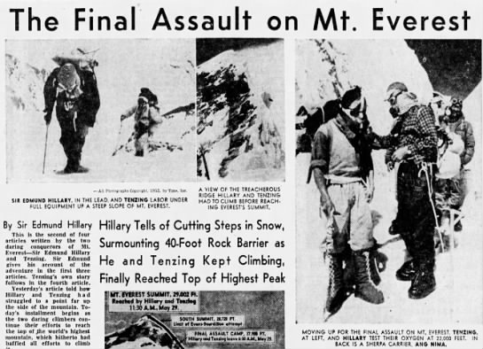 The Final Assault on Mt Everest -
