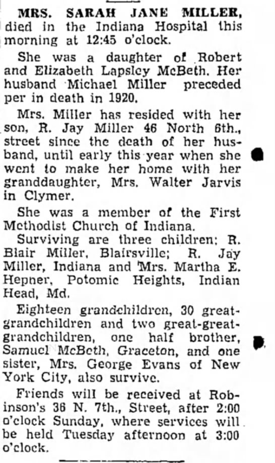 Indiana Gazette 30 Aug 1947 Page 2 -