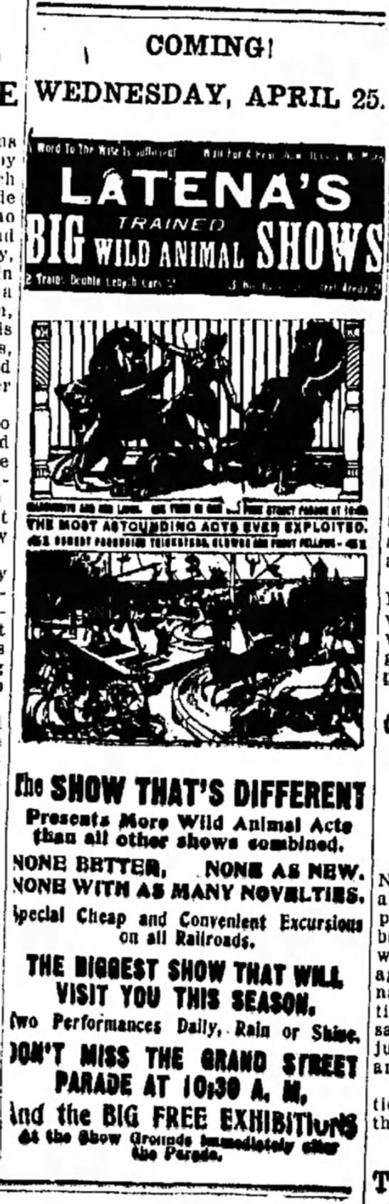 Downie LaTena Ad4-24-1917 See Related -