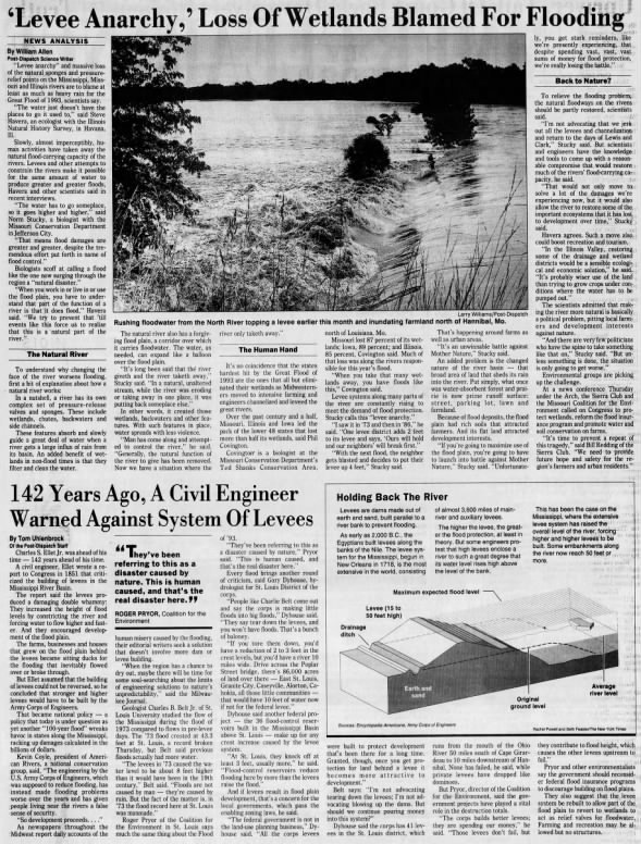 The Flood of 1993: From routine crests to record-breaking
