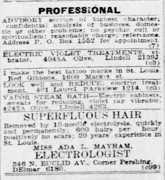 Classified Advertisement - St  Louis Post Dispatch - Dec 5