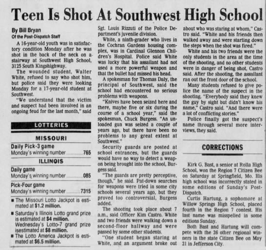 Southwest High School Shooting -
