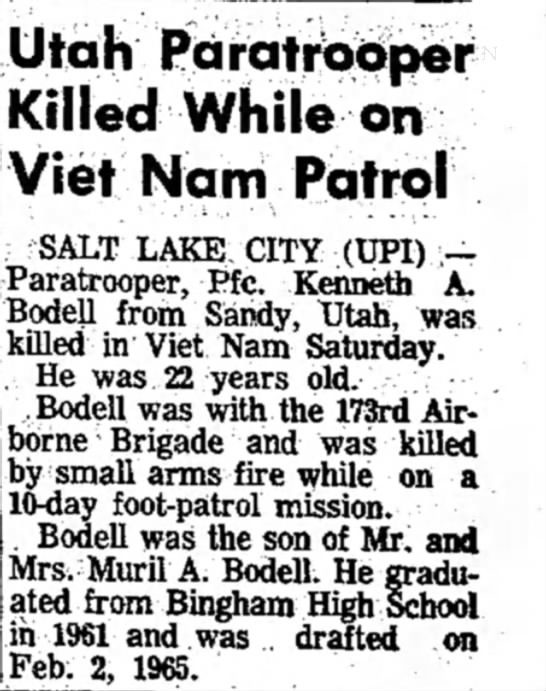 Kenneth Bodell - Viet Nam -