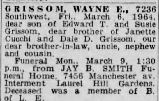 3/8/64 obituary -