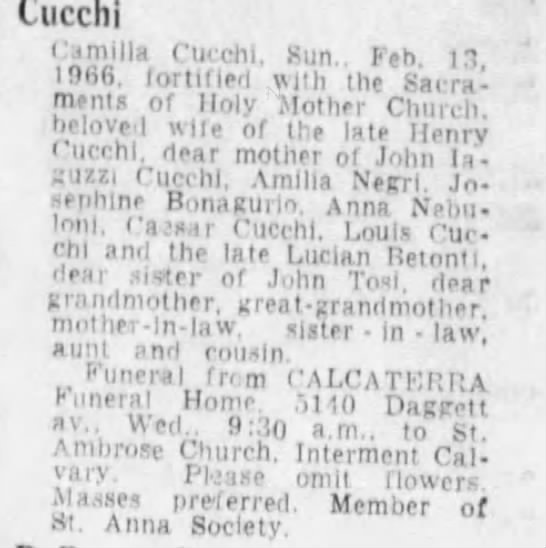 2/14/66 obituary -