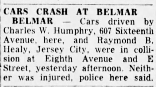 Charlie car crash - Newspapers com