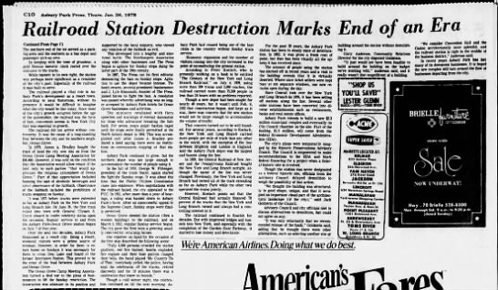 End of AP station, January 26, 1978 part 2 -